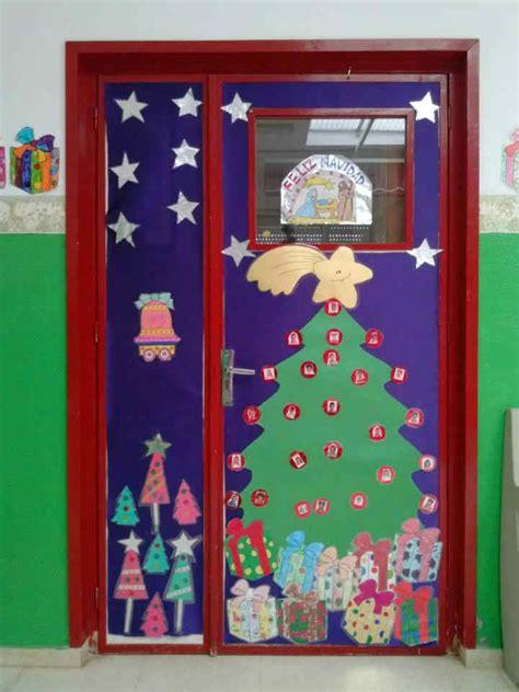 decorar puertas de navidad decoraci 243 n puertas de navidad 2 manualidades para ni 241 os