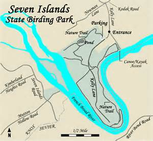 Tn State Parks Map by Seven Islands State Birding Park Tennessee State Parks
