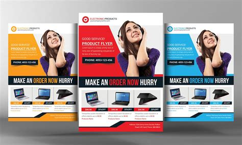 product brochure template free product promotion flyer template flyer templates creative