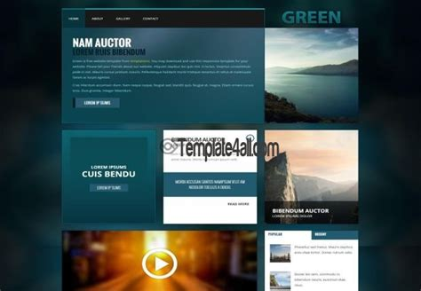 free css website templates 187 page 3