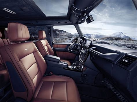 mercedes g class interior 2016 mercedes decides to build g500 4x4 178 prices it from