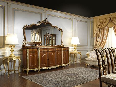 Classic Cupboard - the classic cupboard dining room in louis xv style
