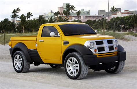 Smallest Size Truck by Chrysler Sees New For Small Pickuptrucks