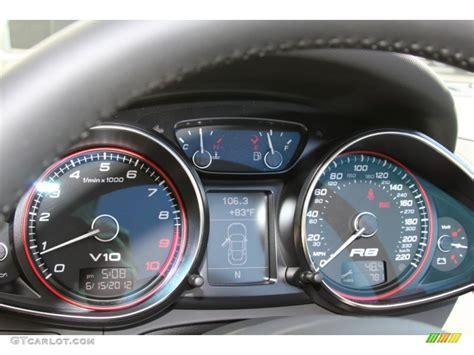 audi r8 gauges 2011 audi r8 spyder 5 2 fsi quattro gauges photo 66717389
