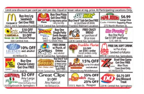 Dominos Gift Card Discount - fundraising discount cards 20 years of fundraising emi