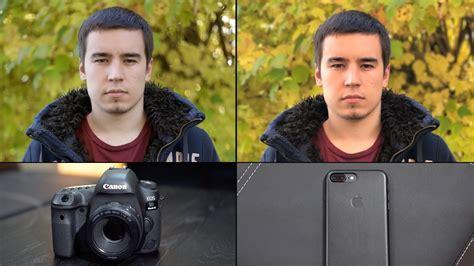 iphone 7 plus portrait mode vs dslr