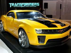 Bumblebee Chevrolet 10 Special Edition Camaros Autobytel