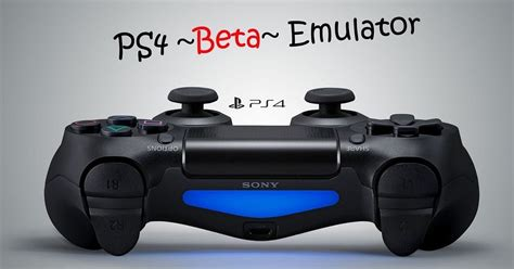 console emulators for pc ps4 emulator free for pc free software