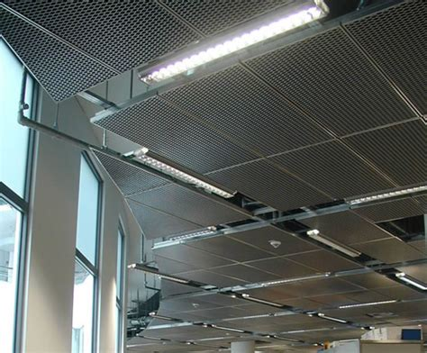 expanded metal suspended ceilings lindner esi building