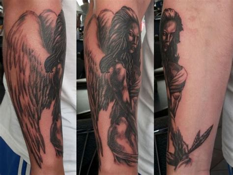 angel tattoo lower arm lower arm tattoo ideas and lower arm tattoo designs page 8