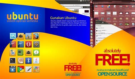 desain brosur coreldraw x6 brosur ubuntu trifold