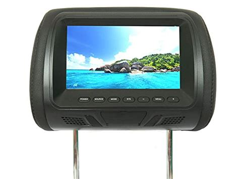 7 inch car headrest monitor mobile tv display screen for lexus toyota acura honda skoda vw