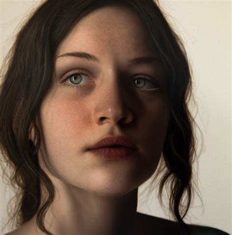 Best Painting by Marco Grassi Painter 187 Green Queen