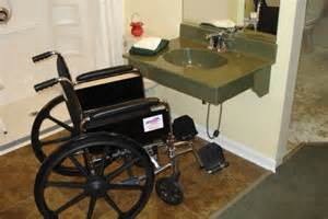 How To Install Lights Under Kitchen Cabinets - top 5 things to consider when designing an accessible bathroom for wheelchair users assistive