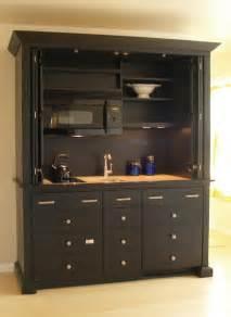 mini kitchen hides all appliances contemporary kitchen