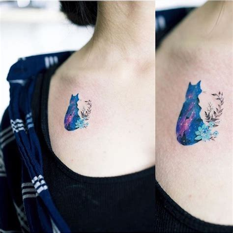 tattoo cat color collection of 25 colored cat tattoo