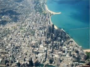 Aerial Map Of Chicago by Chicago Map Satellite