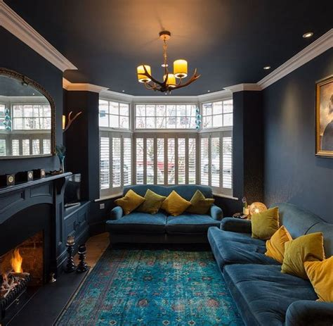 dark blue paint living room best 20 hague blue ideas on pinterest dark blue walls