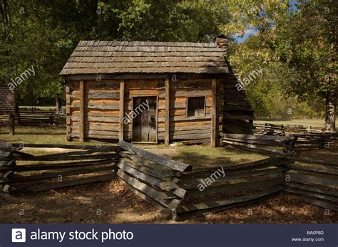 Abraham Lincolns Cabin by The Cabin At Abraham Lincoln Birthplace National Historic