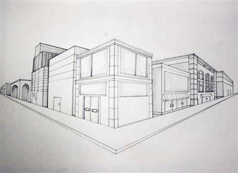 tutorial menggambar perspektif 2 titik hilang 50 gambar perspektif beserta contoh dan pengertian