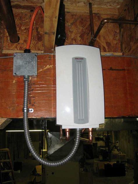 under water heater tankless demand water heaters