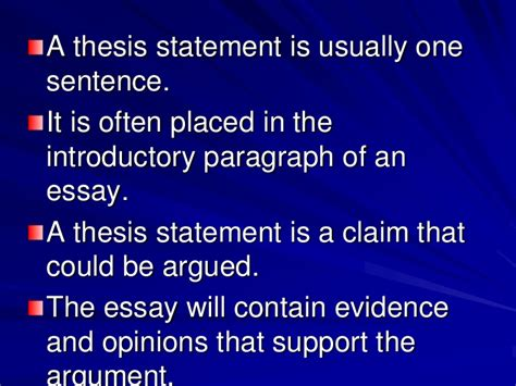 where is the thesis statement typically found in an essay how to locate a thesis statement in a essay kingessays