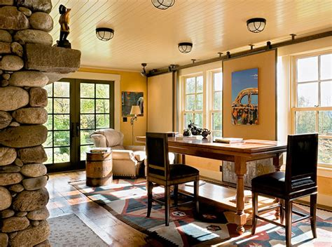 elegant home office houzz elegant rustic rustic home office boston by