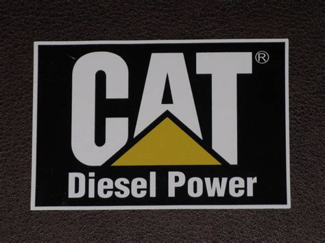 Sticker Wallpaper Dinding Hi Cat caterpillar cat diesel power logo decal sticker vinyl loader bulldozer back hoe ebay