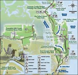 Where Is Amelia Island Florida On The Map by George Crady Bridge Fishing Pier State Park Florida