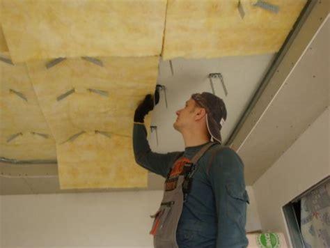 come isolare acusticamente il soffitto