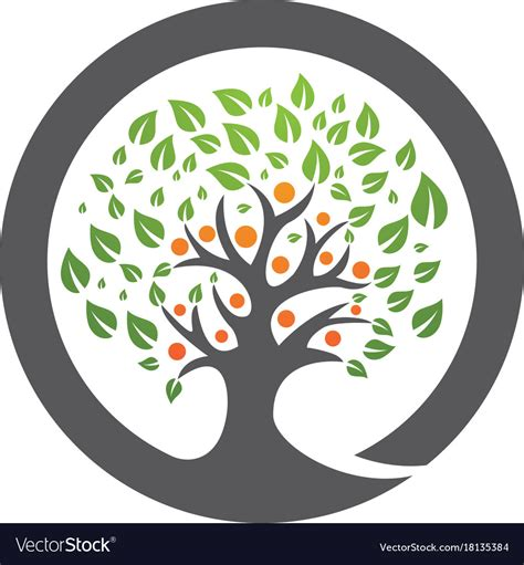 Family Tree Logo Template Royalty Free Vector Image Vector Image Template Family Tree
