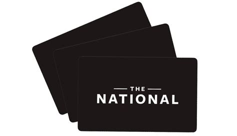 Restaurant Gift Cards Nyc - the national bar dining rooms