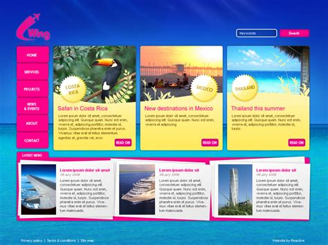 homepage design concepts effective web page design moonmicrosystem