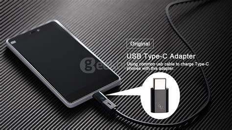 Xiaomi Micro Usb To 31 Type C Adapter Converter Original Black xiaomi micro usb to usb 3 1 type c adapter converter