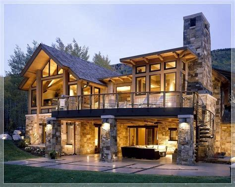 home exterior design stone modern stone house plans lovely stunning modern stone