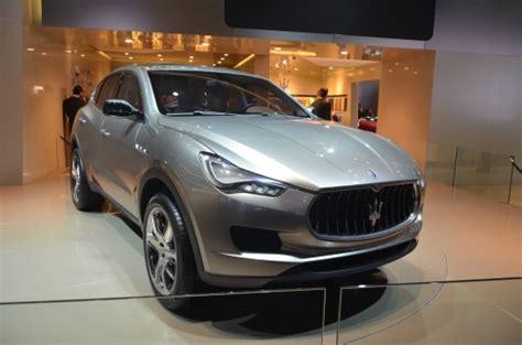 Maserati Kubang For Sale Frankfurt Maserati Joins Suv Race With A Kubang
