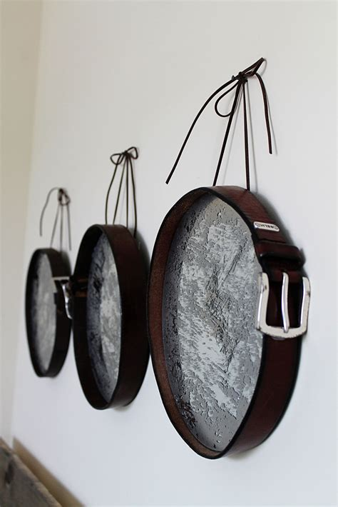 diy leather belt clock hanger 20 diy ideas to reuse and recycle belts the in