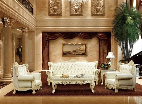 Luxury Living Room Furniture Sets by Aliexpress Buy Luxury Antique Style White And
