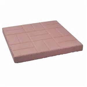 Home Depot Pavers Patio Decor Precast Brick Patio Paver 24 Inch X 24 Inch