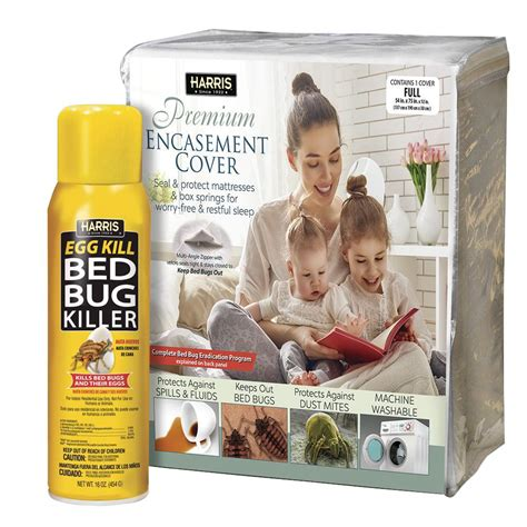 harris bed bug mattress cover and bed bug spray value