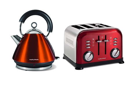 4 Slice Toaster And Kettle Set morphy richards metallic accents kettle and retro 4 slice toaster set ebay