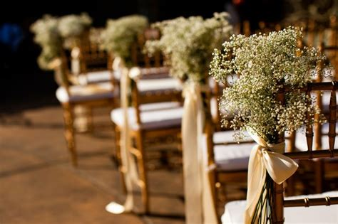 Baby S Breath Wedding Aisle by Baby S Breath Aisle