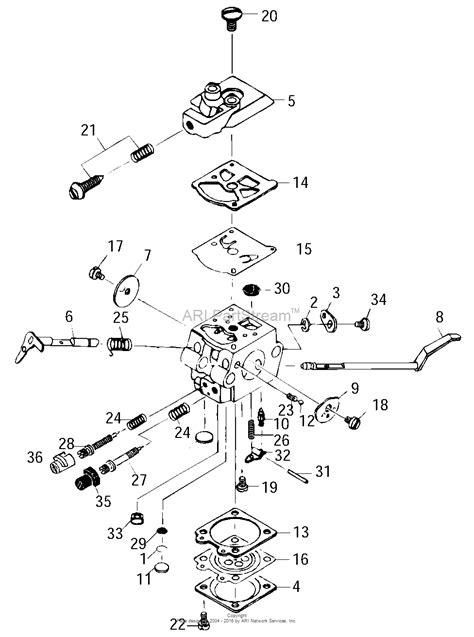 zama carburetor diagram mtd mt3310 41ad310q077 41ad310q077 mt3310 parts diagram