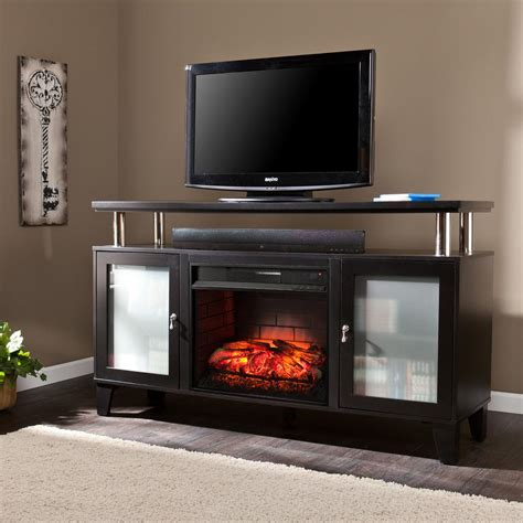 tv electric fireplace real tracey grand 84 in entertainment center