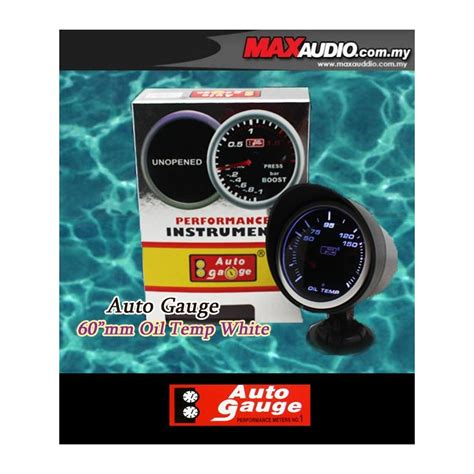 Speedometer New Cb150r Led Ori Ahm buy autogauge 2 5 quot white led defi smoke temp meter ag00393