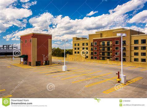 Sitemap Gaithersburg Maryland Gaithersburg Garage The Roof Of A Parking Garage In Gaithersburg Maryland Stock Photo Image 47663092