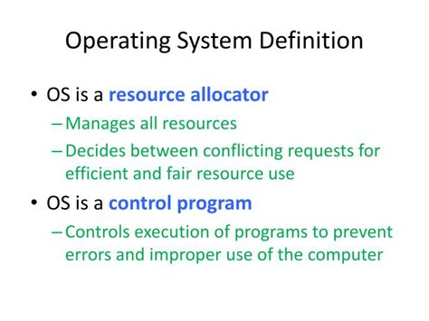 define systemize ppt csru 3595 operating systems tuesday friday 10 00