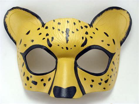 cheetah mask animal masquerade cheetah fursona cosplay