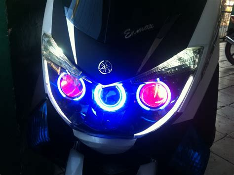 Lu Led Motor Matik modifikasi yamaha nmax update garasi modifikasi
