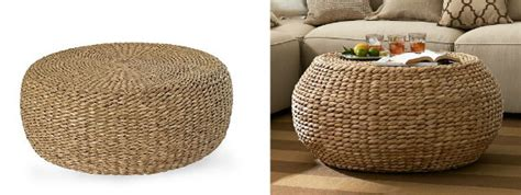 woven coffee table knockout knockoffs woven coffee table